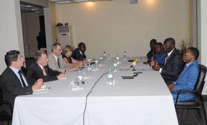 Togo-Ce que le général  Damehane, les ministres Boukpessi  et  Pius Agbétomey ont dit au Groupe des cinq ambassadeurs